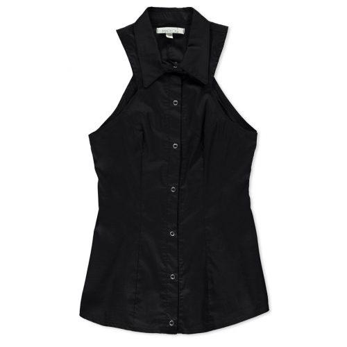 Chemise-pour-femme-fait-au-Quebec-noire-classique-designer-quebecoise-marilou-design