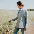 chandail-gris-pour-femme-fait-au-quebec–vetement-designer-marilou-design