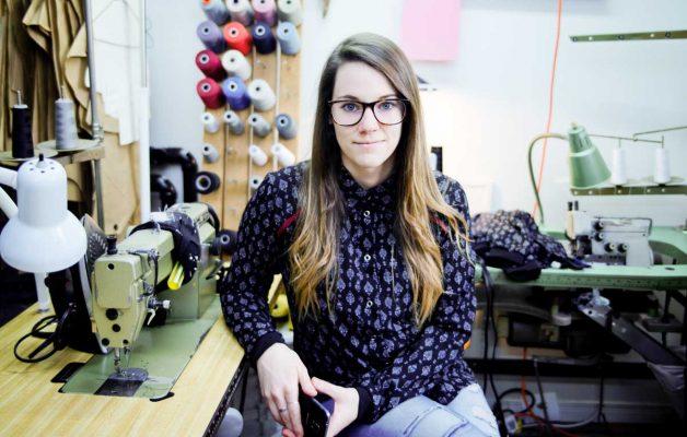 Designer de mode québécoise, jeune entrepreneur Marilou design