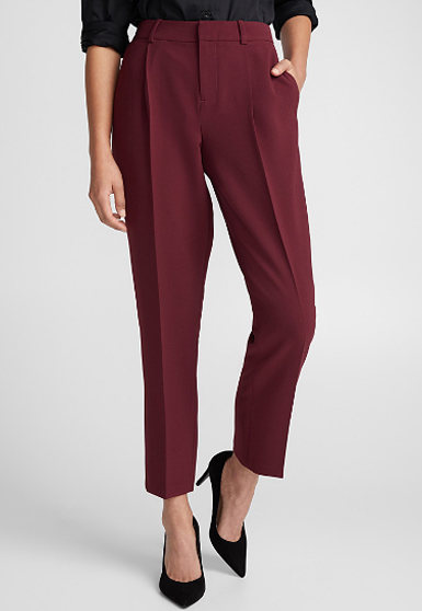pantalon-pour-femme-bourgogne-pant-for-woman-look-chic-classic-confo-made-in-quebec-marilou-design