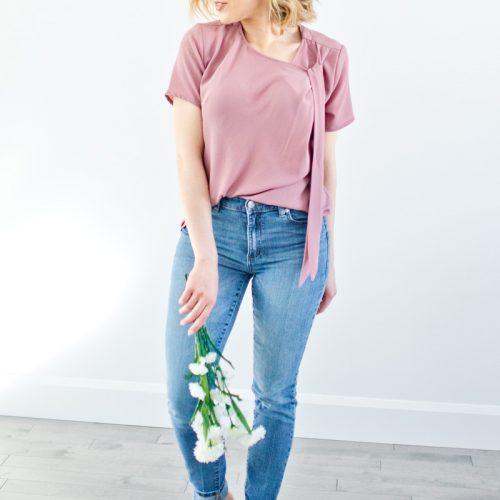 shirt-pink-for-woman-chemise-blouse-noire-pour-femme-vetements-look-chic-confo-fait-au-quebec-canada-designer-marilou-design