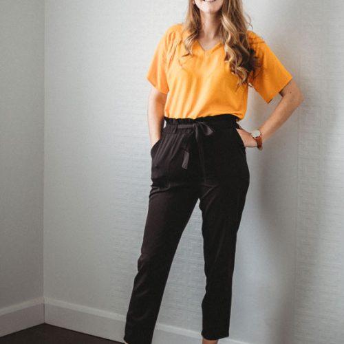 blouse-jaune-pour-femme-boutique-en-ligne-designer-quebecois-shirt-woman-fait-au-quebec-marilou-design