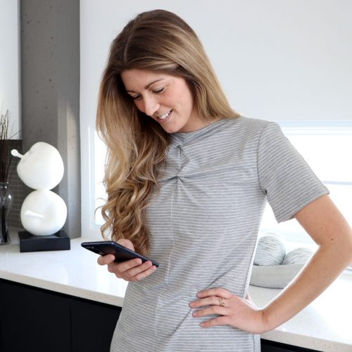 robe-chandail-tricot-jersey-grise-confo-chic-vetement-quebecois-en-ligne-marilou-design
