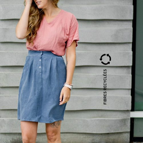 skirt-with-pocket-jupe-avec-poches-vetement-fibres-recyclees-made-in-quebec-marilou-design