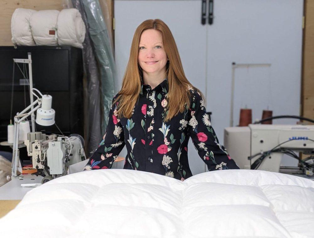 Annie-entrepreneur-laduvet-nordique-couette-entreprise-quebecoise-entrevue-marilou-design