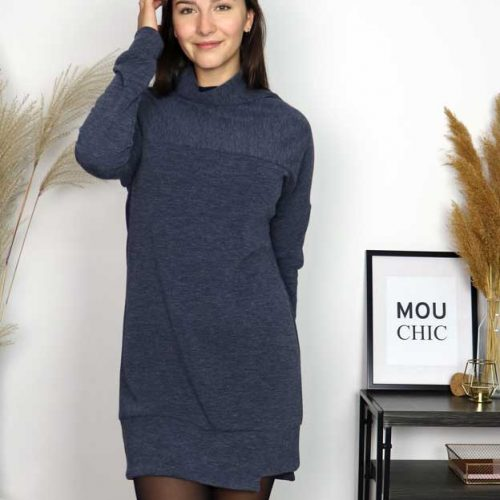 robe-bleu-chic-tshirt-vetement-quebecois-pour-femmes-woman-clothes-look-made-in-quebec-marilou-design