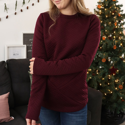 sweater-burgundy-look-confort-chandail-femme-vetement-quebecois-en-ligne-marilou-design